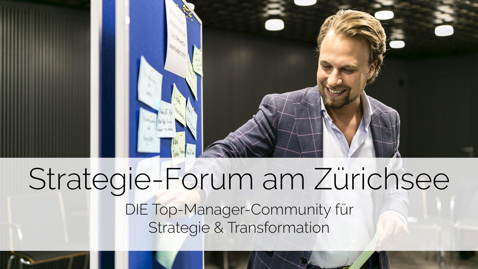 Strategie-Forum am Zürichsee